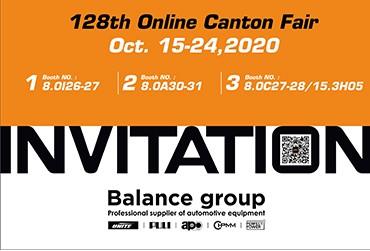 128th Canton Fair Invitation From Balance
