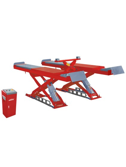 4.5 T capacity U-C45 wheel alignment scissor lift