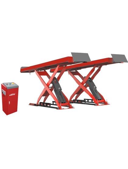3.5 T capacity U-P35 service straight platform scissor lift