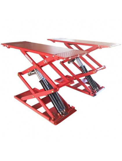 3.0 T Capacity U-B30/U-B30Y ultra-thin wheel free scissor lift