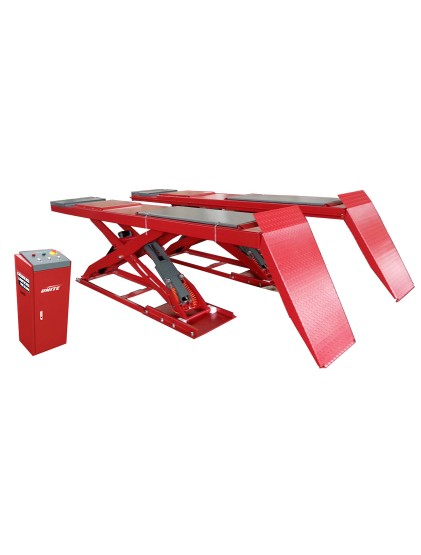 U-40B low profile on ground wheel alignment scissor lift
