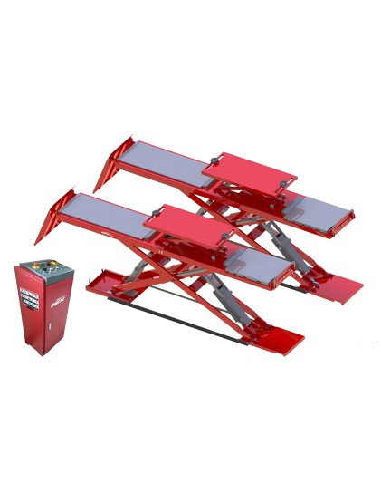U-S40AC low profile on ground wheel alignment scissor lift