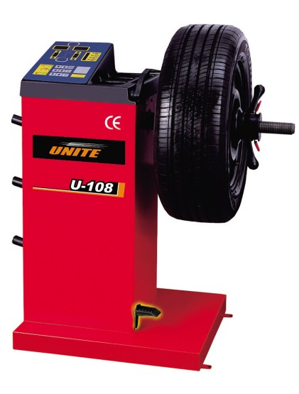 U-108 digital baseline entry level wheel balancer