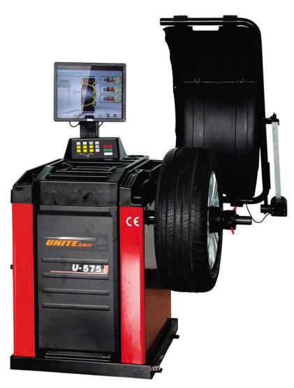 U-575 self-calibrating computer wheel balancer