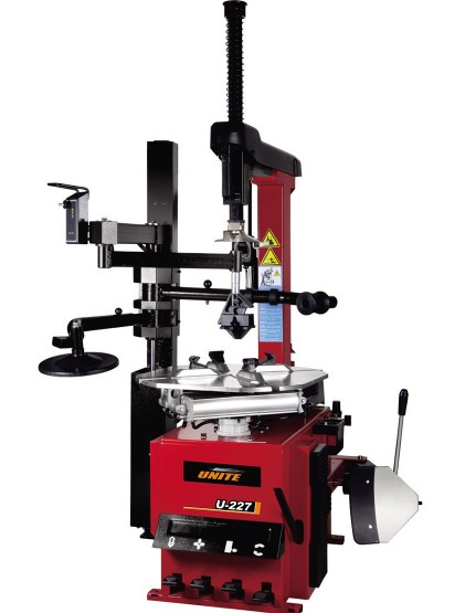 U-227 semi-automatic tilt back tower tire changer
