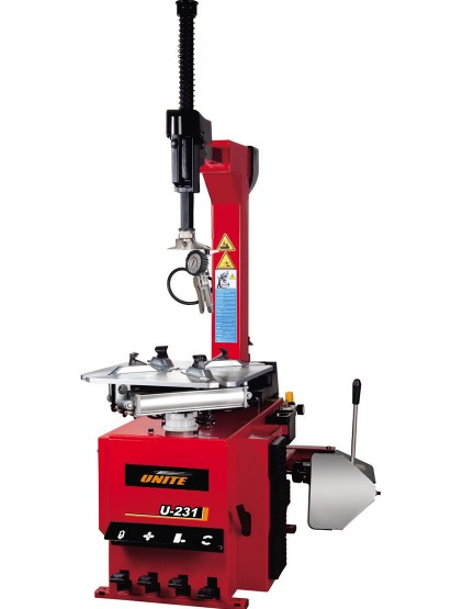 U-231 semi-automatic tilt back tower tire changer