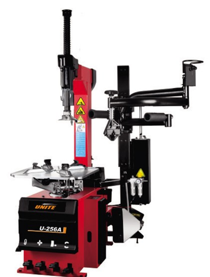 U-256A fully-automatic tilt back tower tire changer